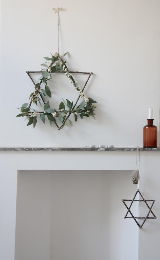 DIY Hanukkah Wreath