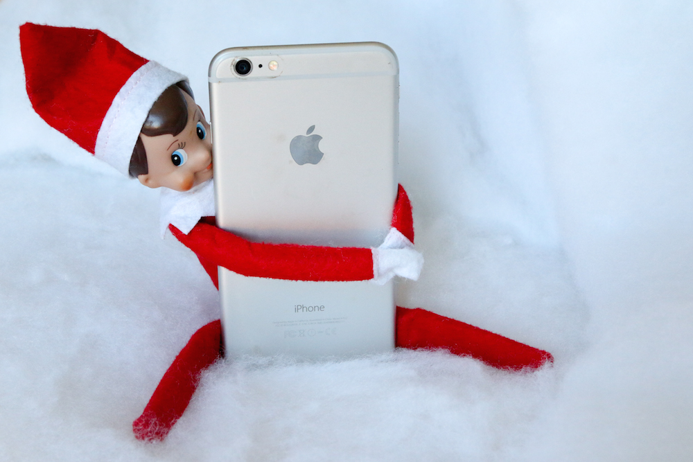 Elf of the Shelf IPhone