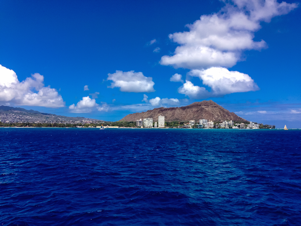 Diamond Head before Submarine