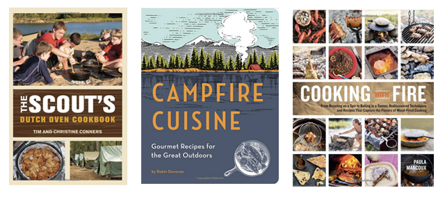 camping cookbook gifts