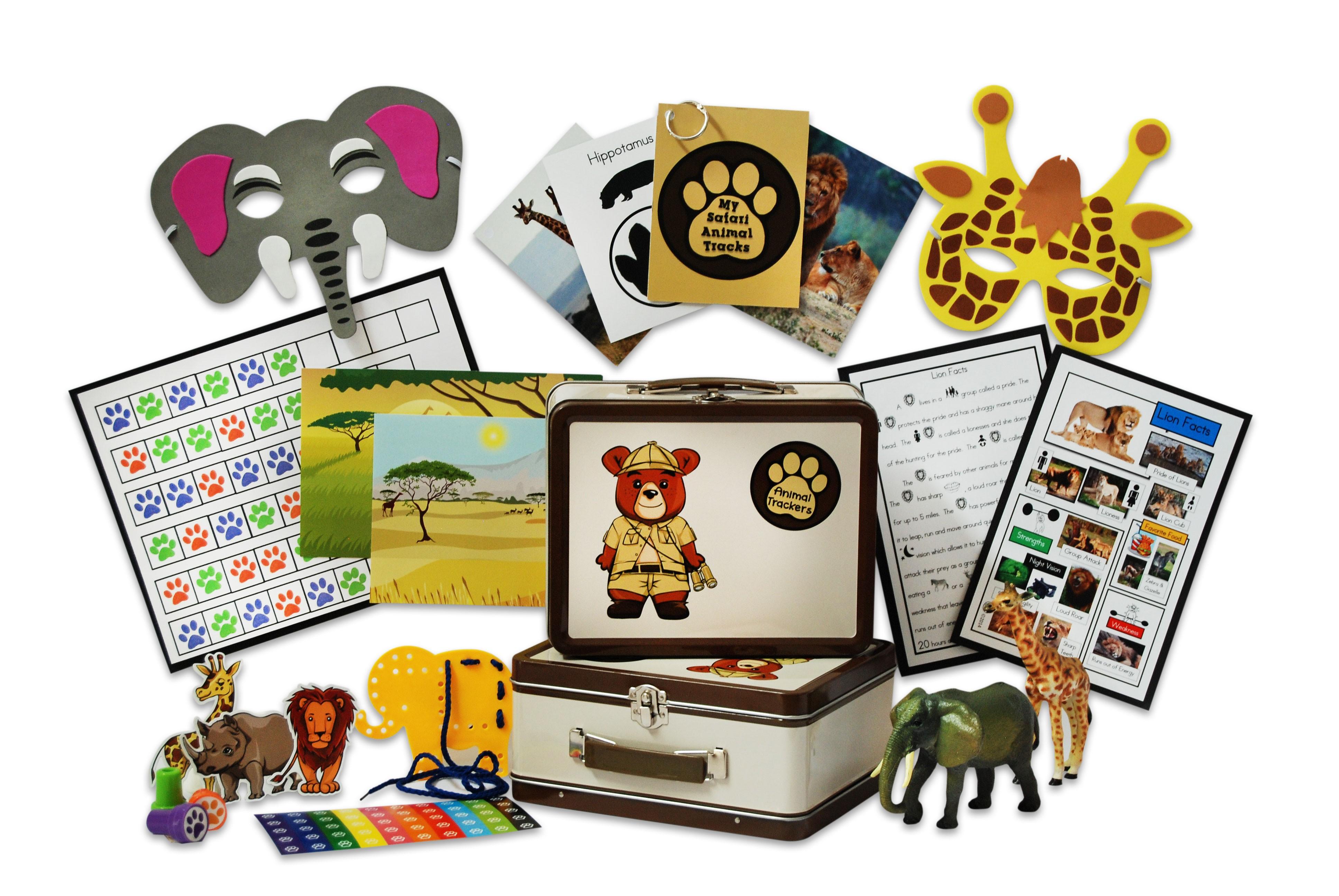 Animal Tracker Subscription Box