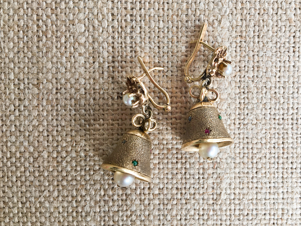 Vintage Bell Earrings