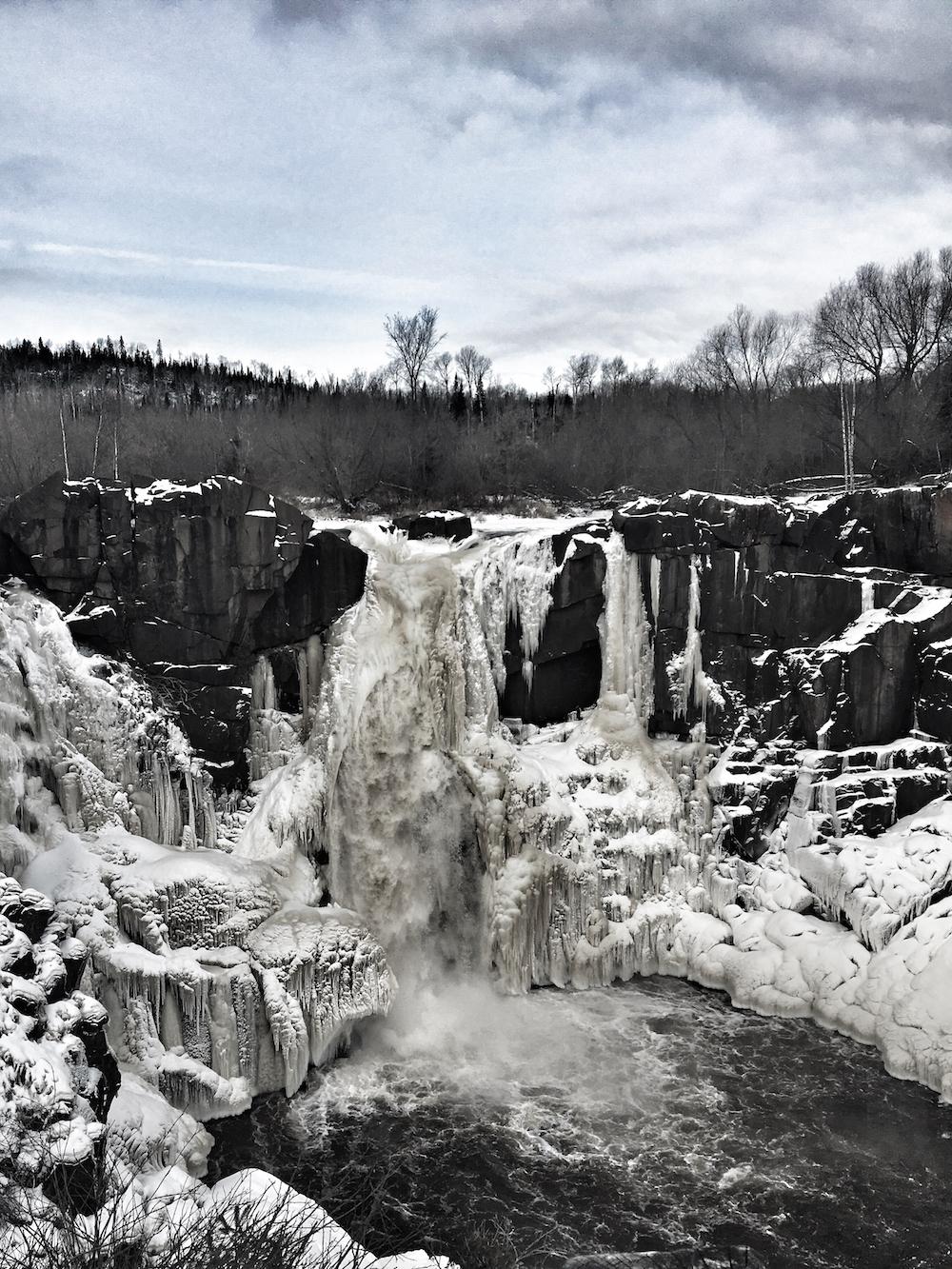 Minnesota High Falls