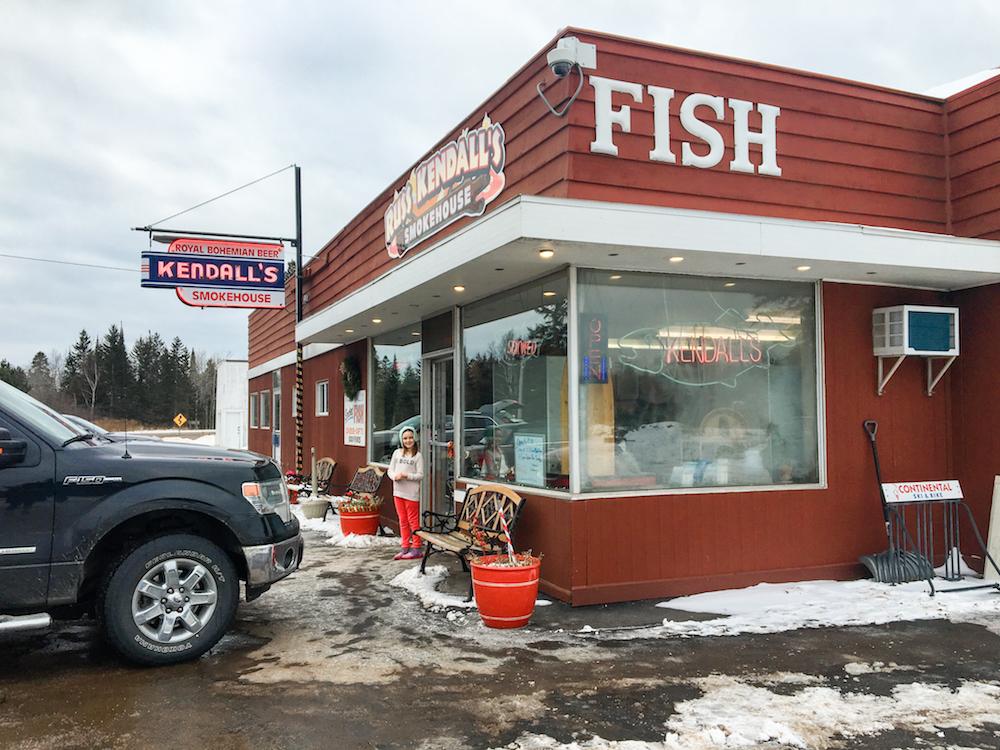 Minnesota Russ Kendall Smoked Fish
