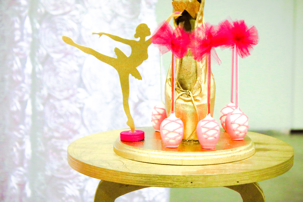 Ballet Slipper Cake Pops