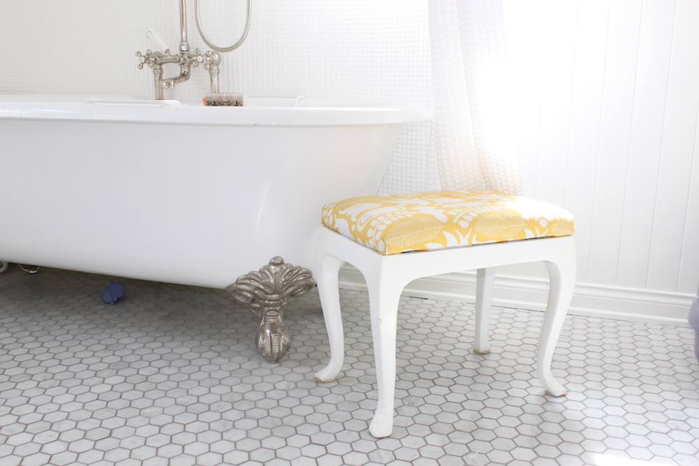 DIY Bath Stool