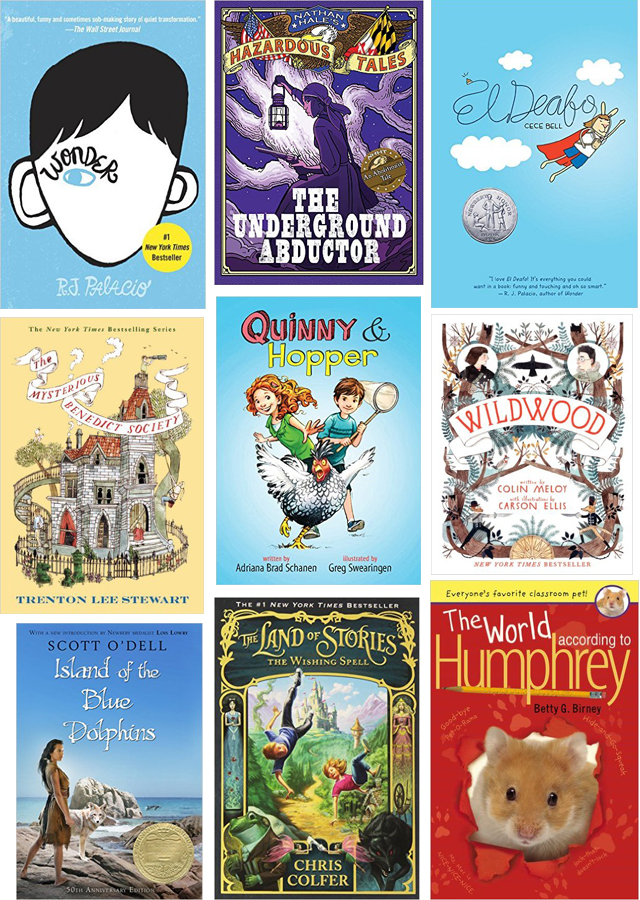 middle grade reading list.