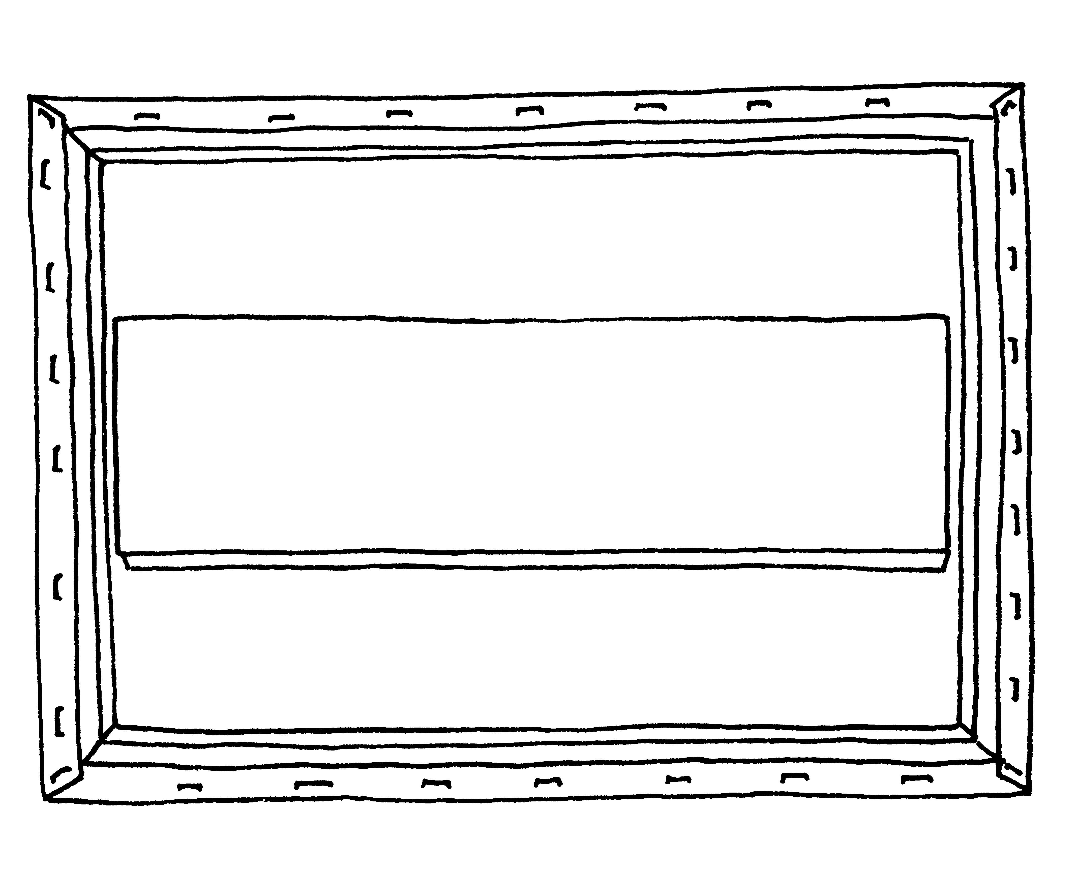 DIY Vintage Flatware Display Step 1