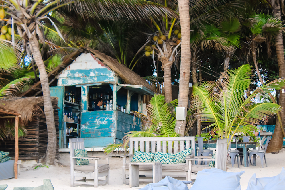 Tulum Be Tulum Cocktail Hut