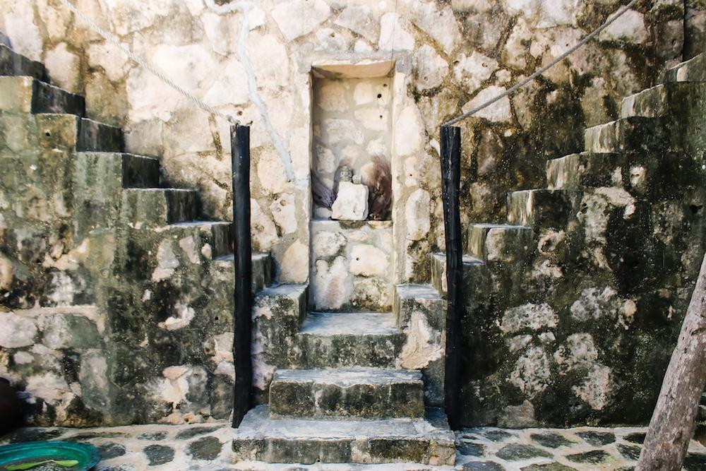 Tulum Coqui Coqui Stairs