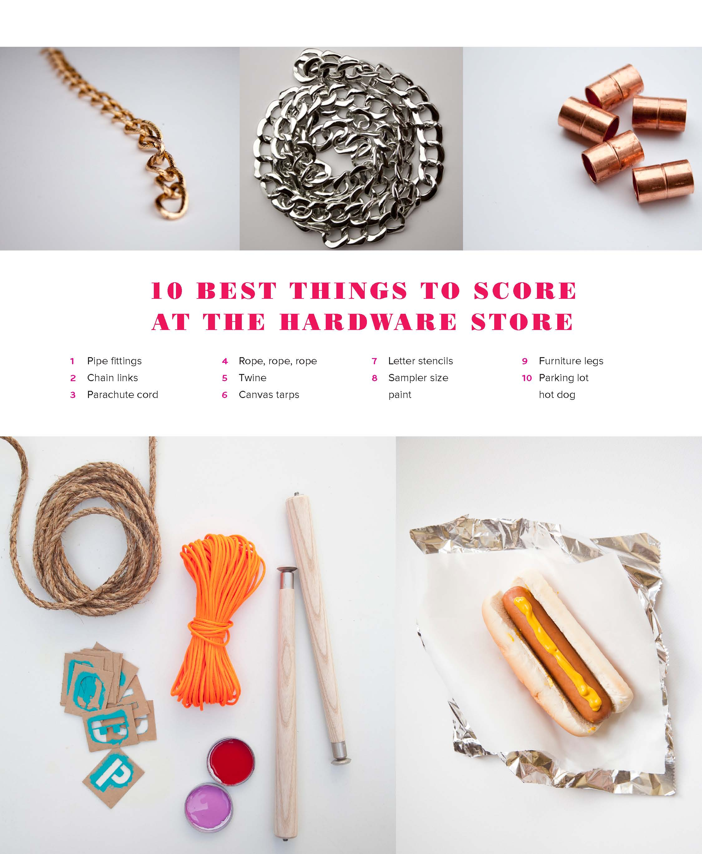 10 Best Hardware Store Decorating Scores