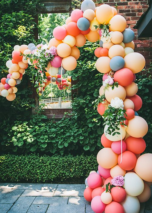 The Prettiest Balloon Decor
