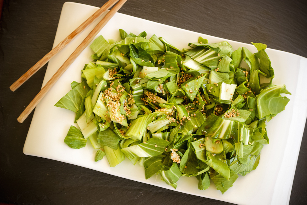 Simple & Bright Bok Choy Salad