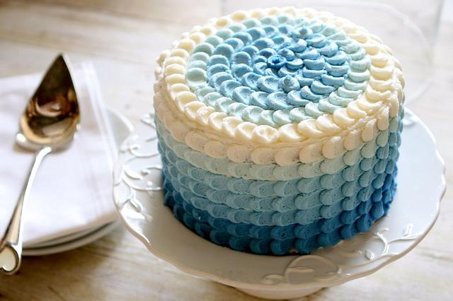 Ombre Petal Cake Tutorial