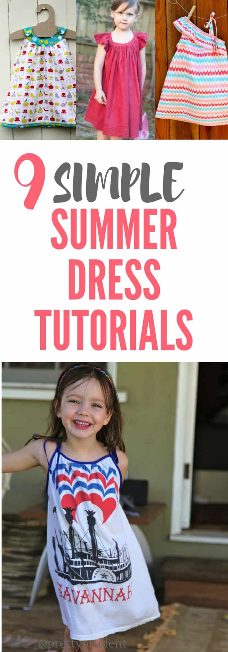 Simple Summer Dress Tutorials