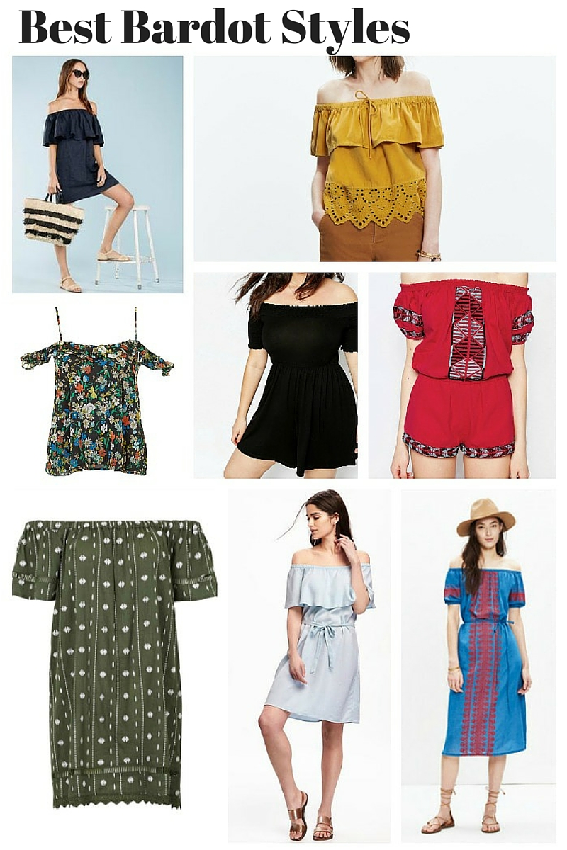 Best Bardot Styles for Summer 16