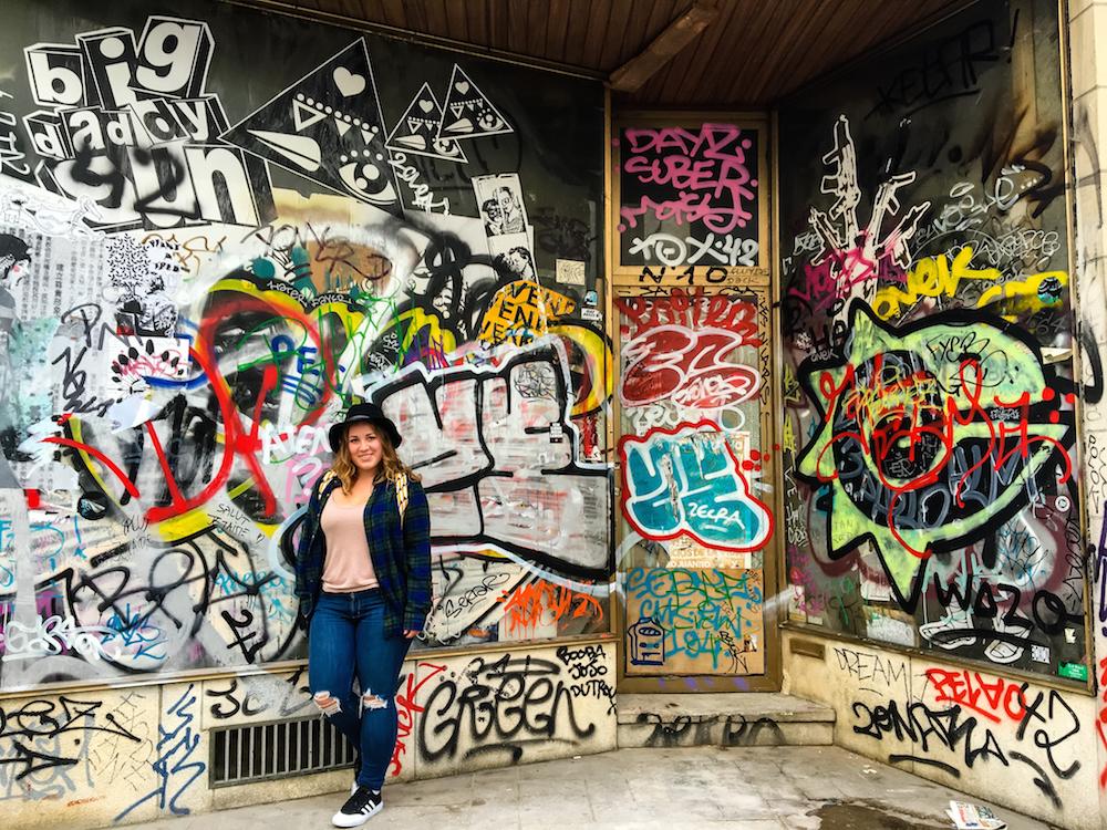 Brussels Graffiti Rachel