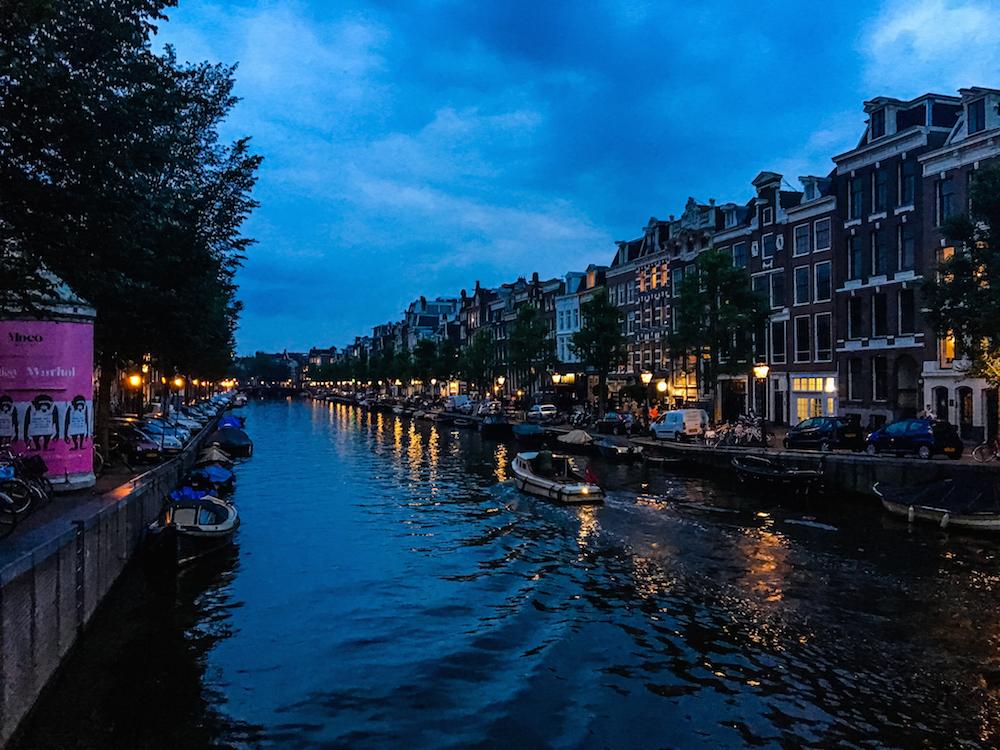 Prinsengracht at Night