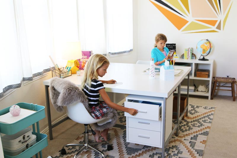 Our Back-To-School Office Makeover for 2