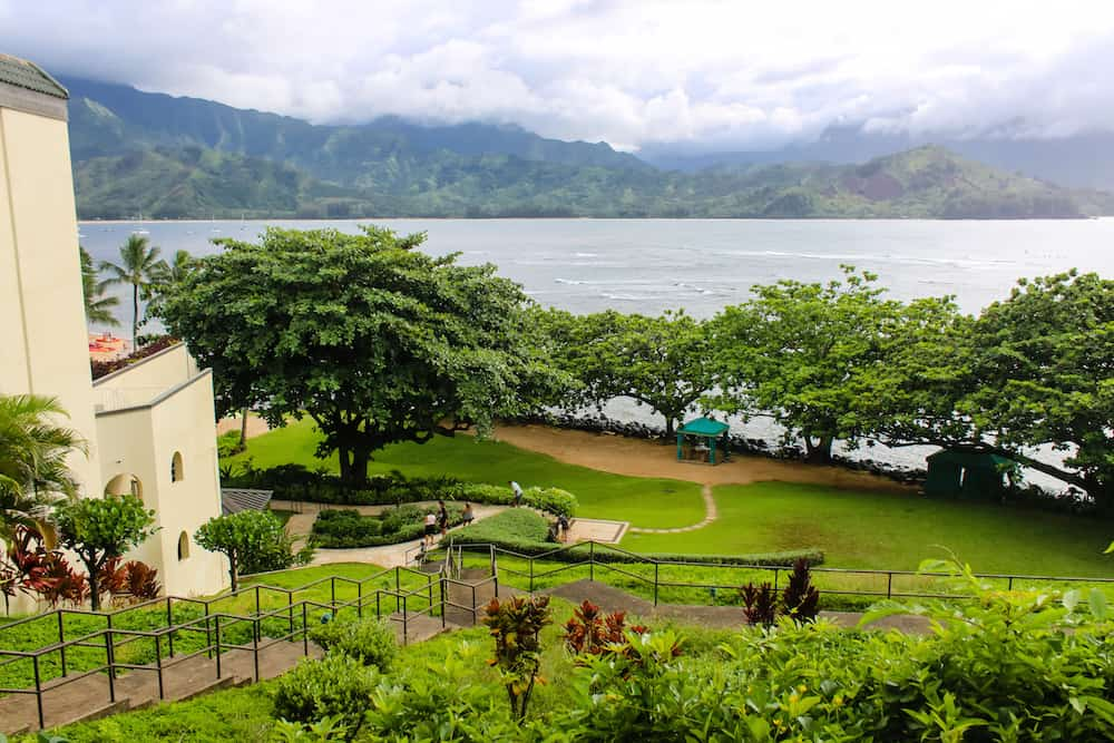 View from St Regis Kauai