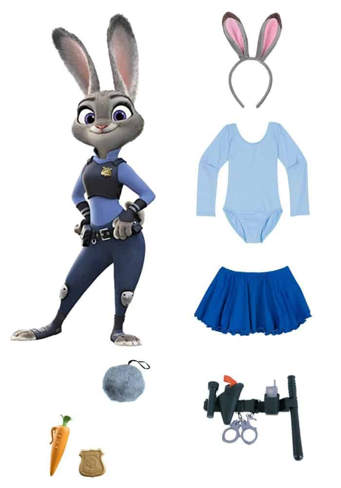 Last Minute Costume: DIY Officer Judy Hopps Zootopia Costume