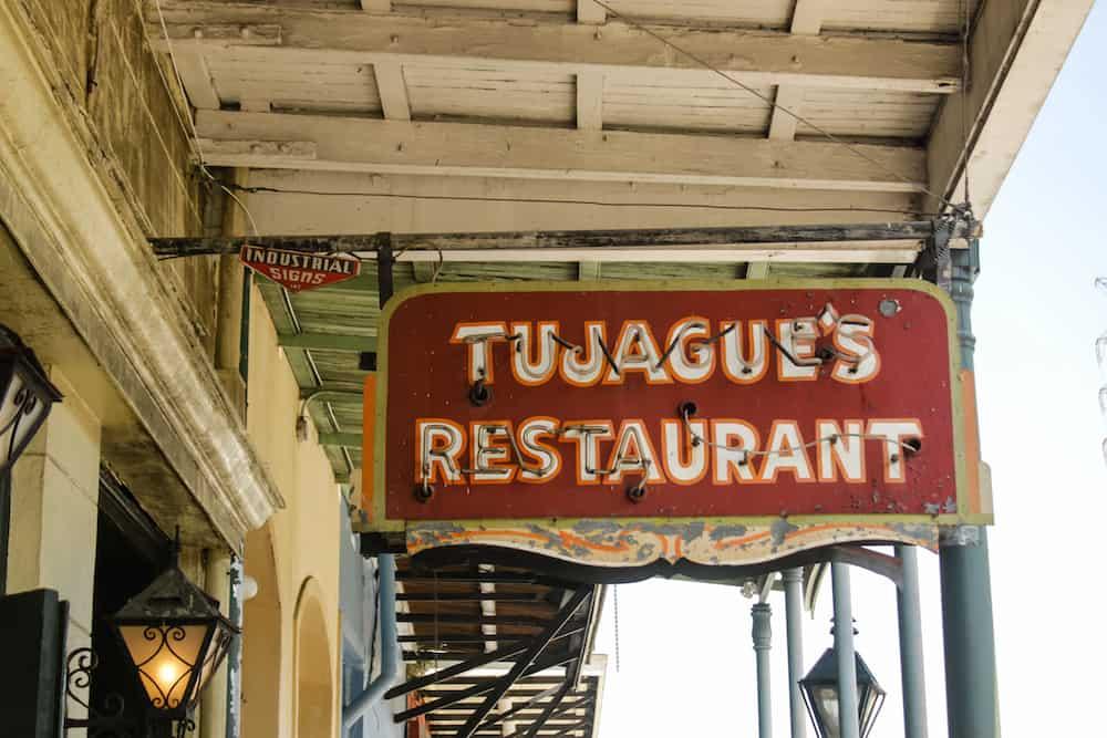 Tujague's NOLA