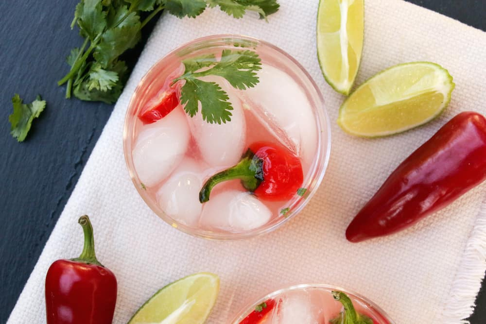 Spicy Watermelon Mezcal Cocktail Recipe 2
