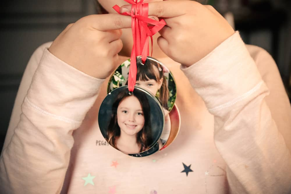 School Picture Ornaments