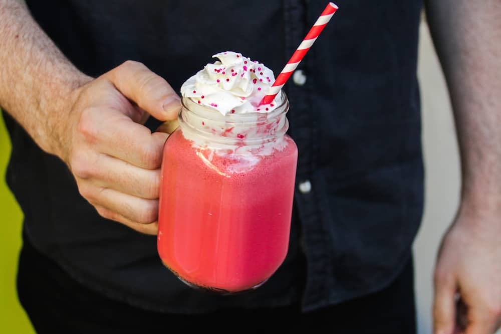 Red Velvet Milkshake Recipe