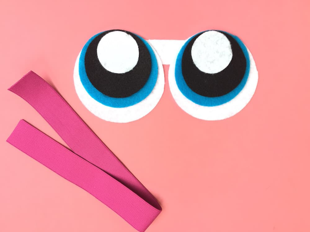 Powerpuff Girls Sleep Mask Step 5