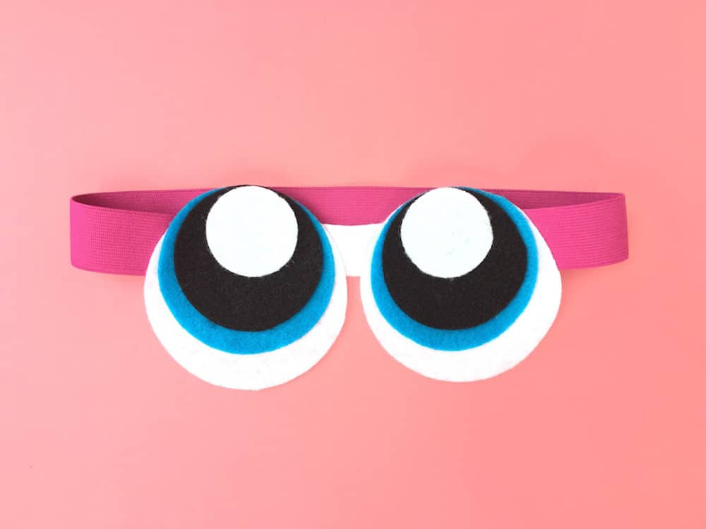 Powerpuff Girls Sleep Mask Step 6