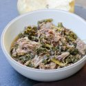 Instapot Garlic Pork & Kale Recipe 4