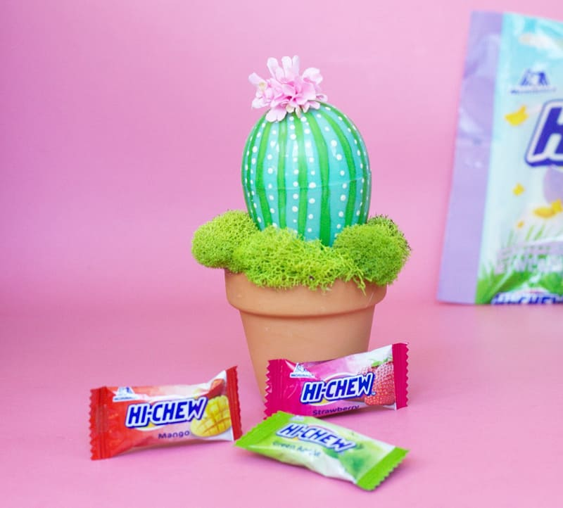 DIY Potted Easter Egg Cactus
