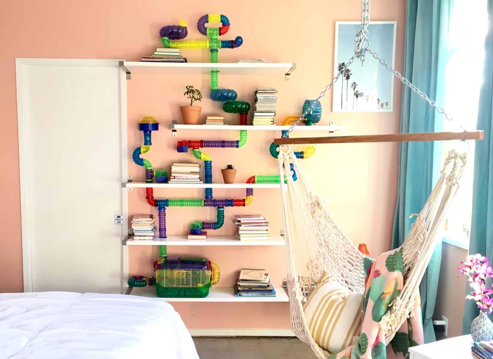 Hamster Bookshelf