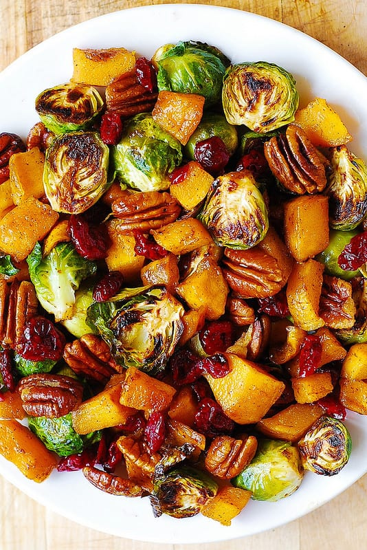brussels sprouts butternut squash