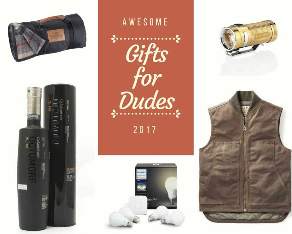 Prudent Gift Guide: 11 Awesome Gifts for Guys 2017