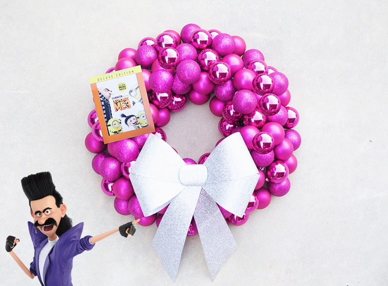 Despicable Me 3 Christmas Wreath