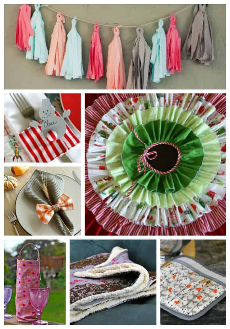 Perfect Holiday Sewing Projects Decor