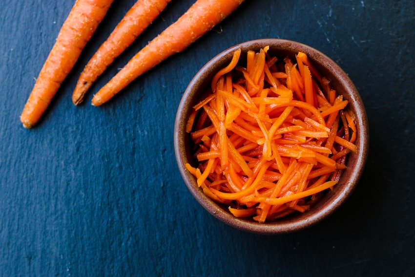 Asian Quick Pickled Carrots Recipe