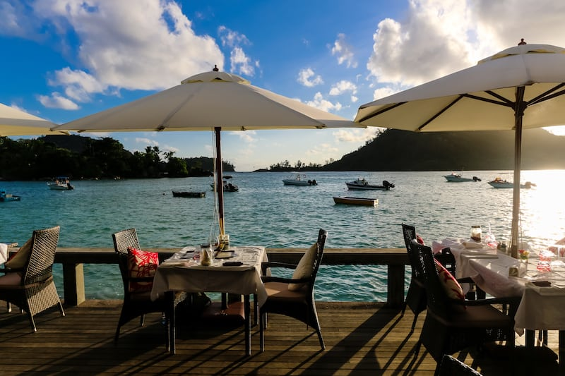 Image of Seychelles Del Place Restaurant