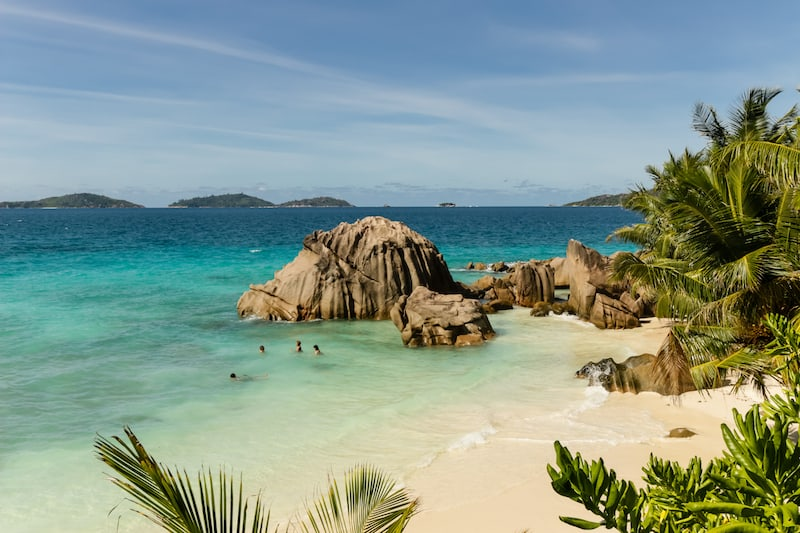 Seychelles Le Digue Beach 1