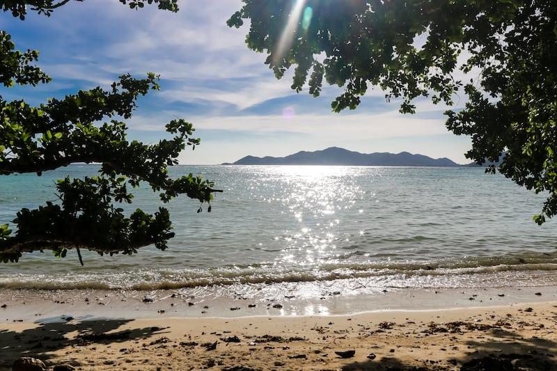Seychelles Le Digue Praslin View