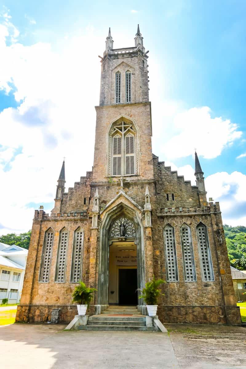 Seychelles St Francois Church, Mahe