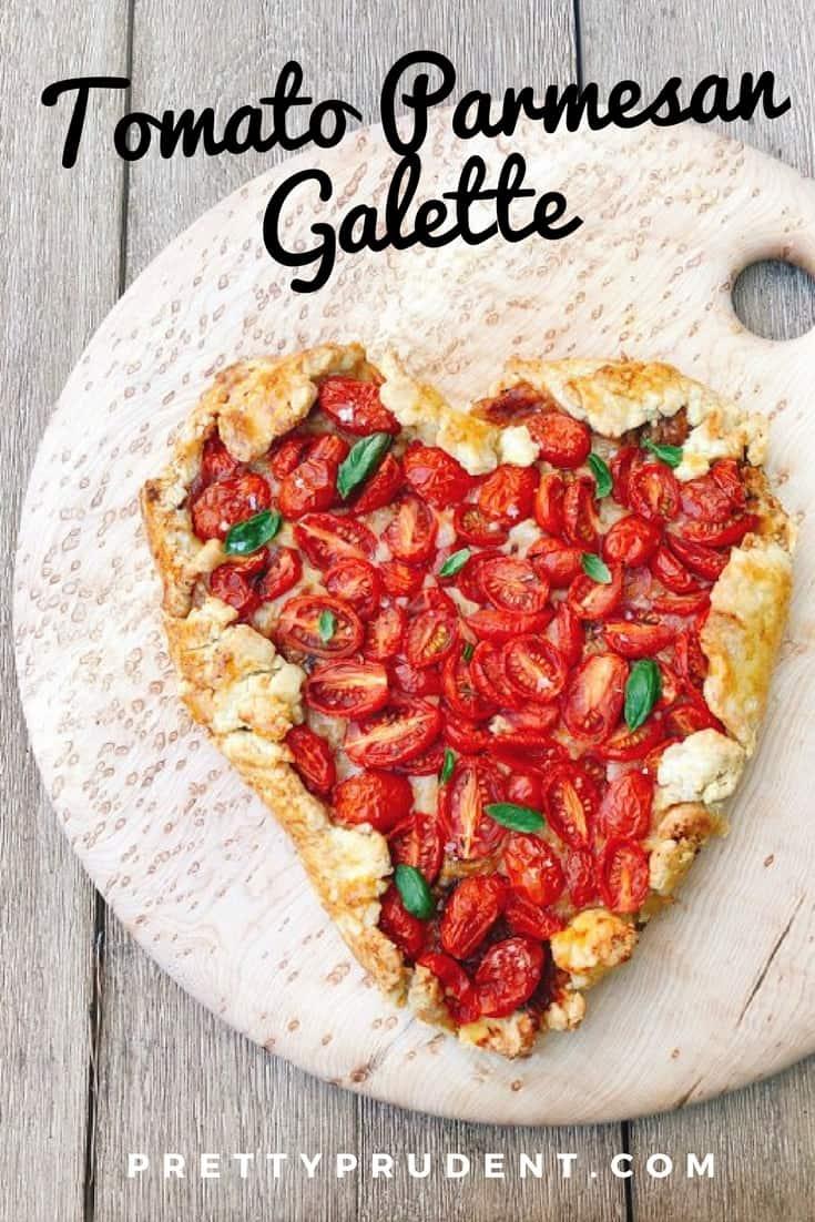 Valentine's Day Recipe: Tomato Parmesan Galette