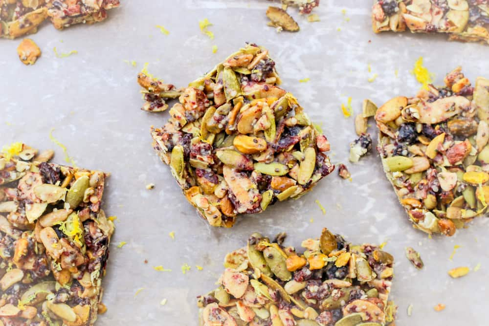 Image of No Bake Tahini Bars
