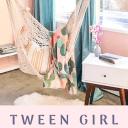 Tween Girl Bedroom Remodel Before & After