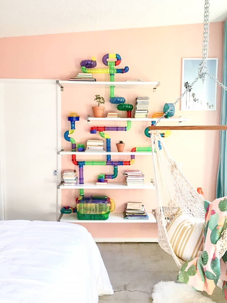 Image of Hamster Tube Bookshelf