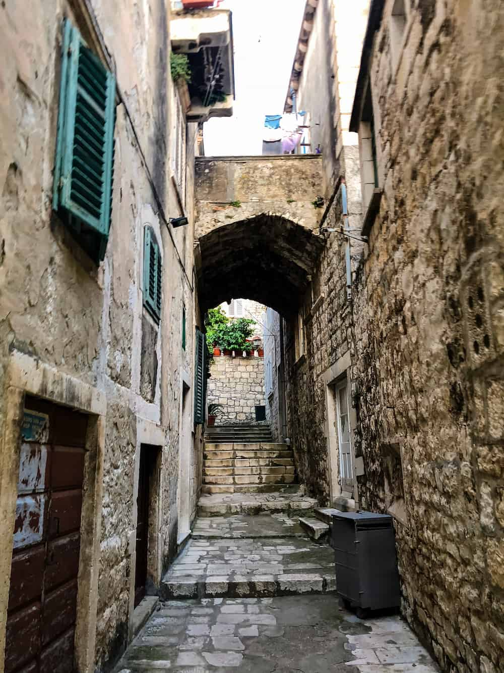 Image of Korcula Old town streets