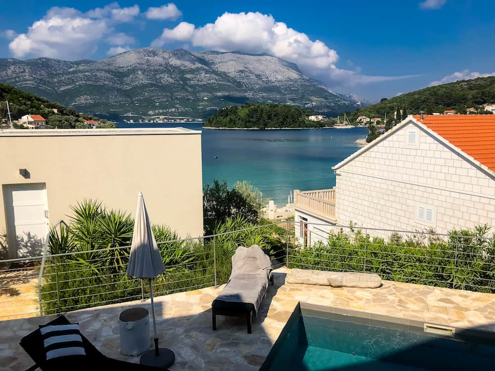 Image of Korcula Tara's Lodge pool