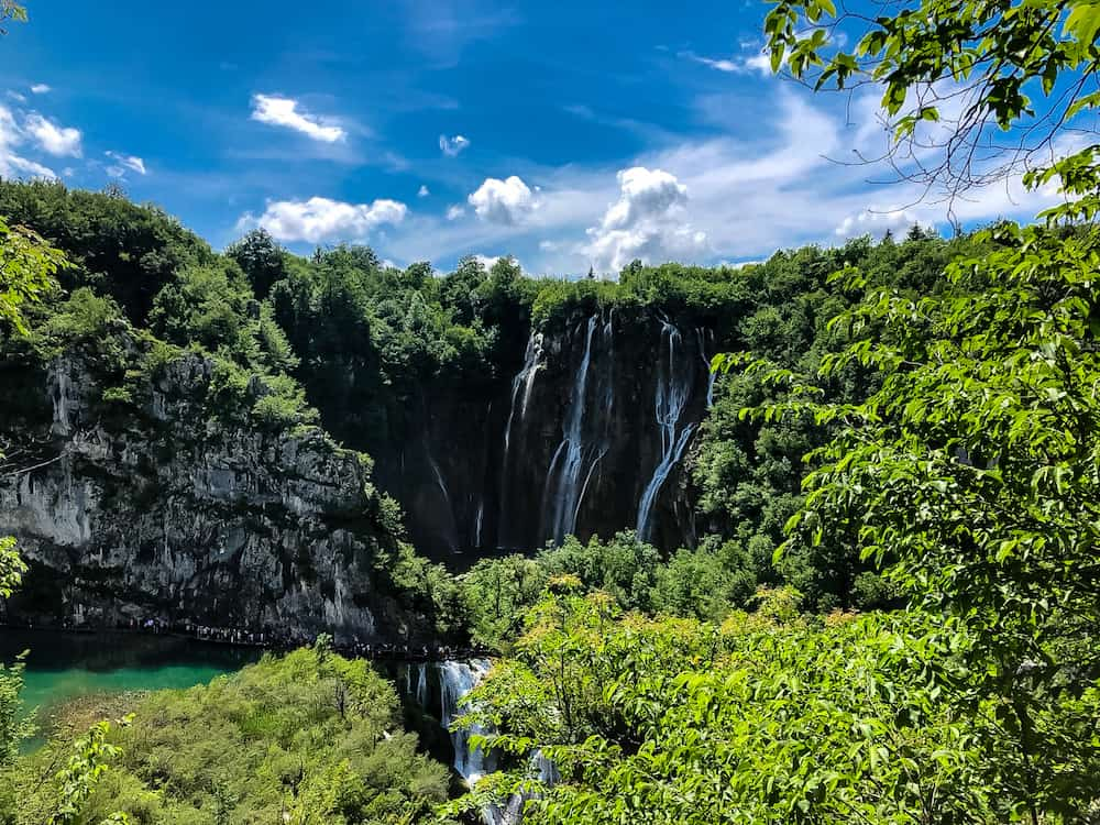 Image of waterfalls in Plitvice